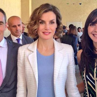 El CEIP San Gil presente en la inauguración del curso escolar por la reina en Palencia
