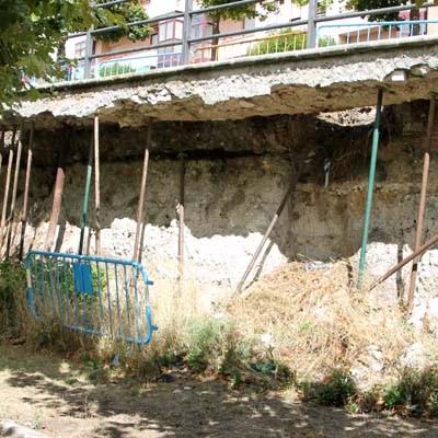 Una empresa cuellarana ejecutará la obra del muro de la cooperativa de La Resina