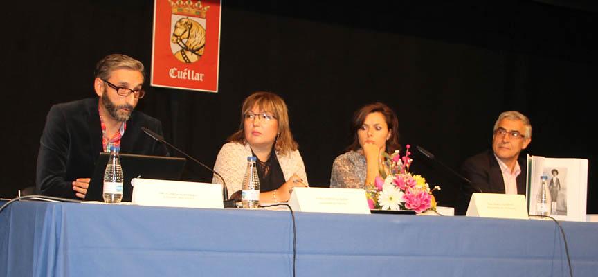 Carlos Porro durante su intervención en la presentación.