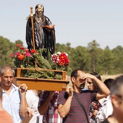 El Carracillo se unió en torno a San Benito de Gallegos en su romería