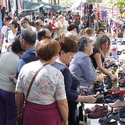 La chopera de El Henar acogerá más de 220 puestos con motivo de la Romería del domingo