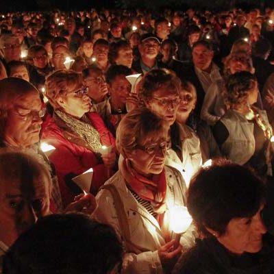 El Rosario de Antorchas precederá hoy a la Romería de El Henar