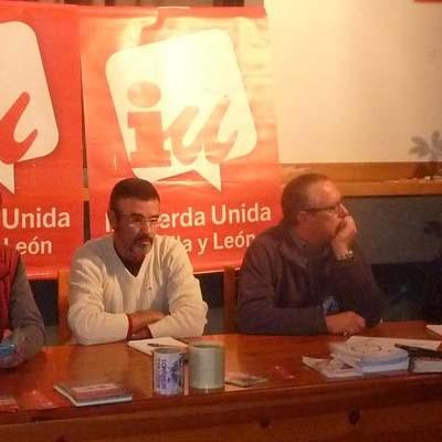 IU debatió la situación política actual en su Asamblea anual en Navas de Oro