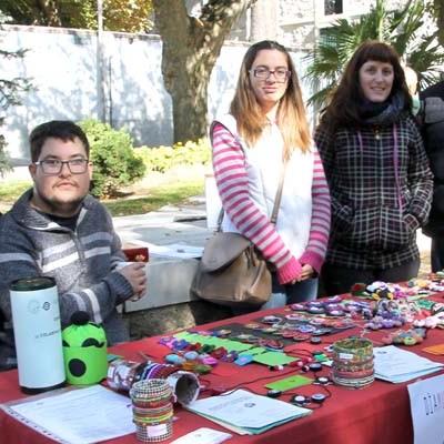 La Asociación Amanecer informó de sus actividades y sus servicios a los vecinos de la comarca