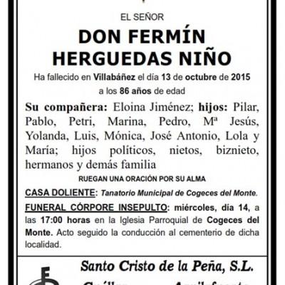 Fermín Herguedas Niño