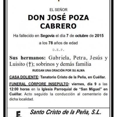 José Poza Cabrero