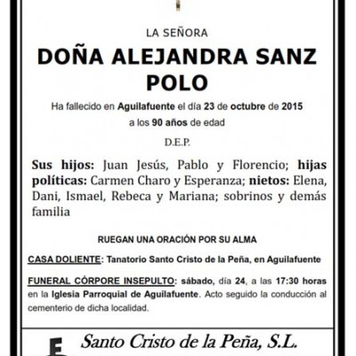 Alejandra Sanz Polo