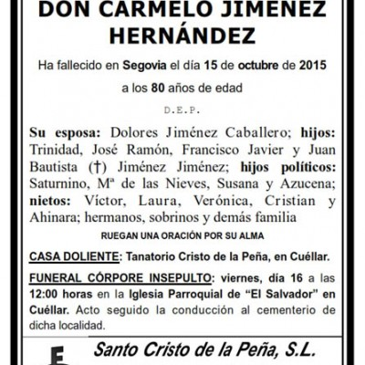Carmelo Jiménez Hernández