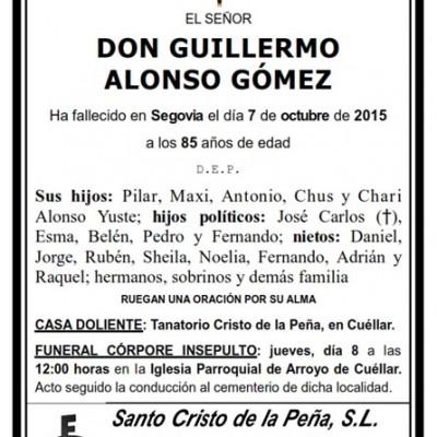 Guillermo Alonso Gómez