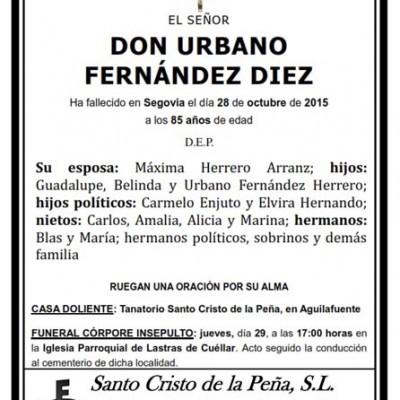 Urbano Fernández Díez