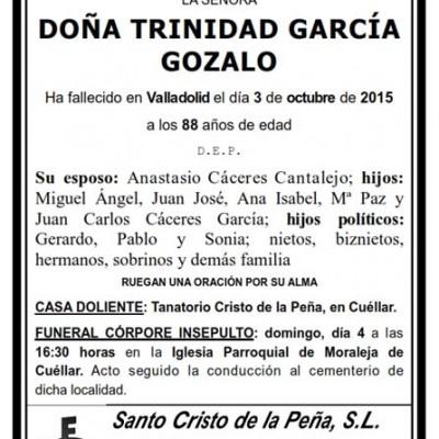 Trinidad García Gozalo