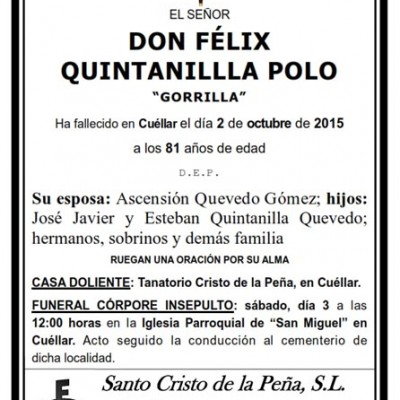 Félix Quintanilla Polo