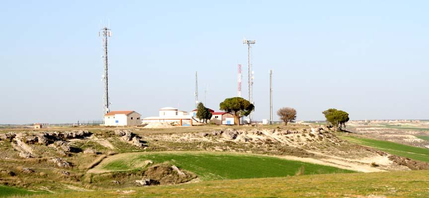 Estación de tratamiento de agua potable situada en las Lomas.