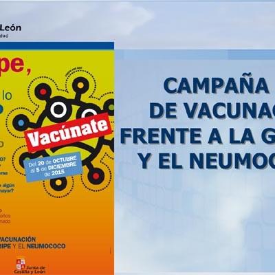 La campaña de vacunación frente a la gripe se extenderá del 20 de octubre al 5 de diciembre