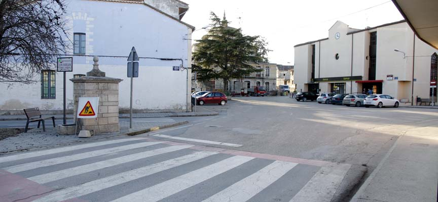 Casco urbano de Olombrada.