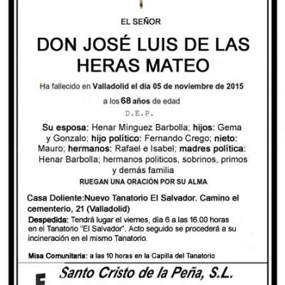 José Luis de las Heras Mateo
