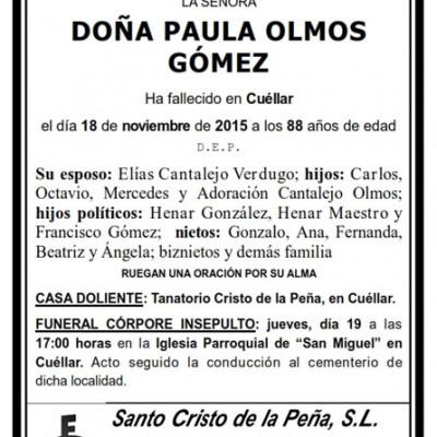 Paula Olmos Gómez