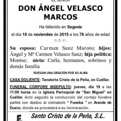 Ángel Velasco Marcos