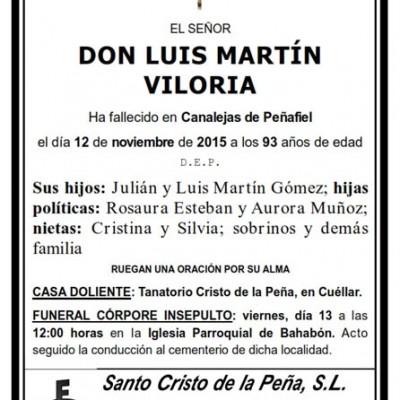 Luis Martín Viloria