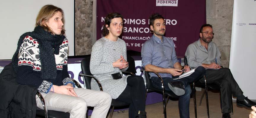 Los procuradores regionales junto a los candidatos a Congreso y senado por Segovia.
