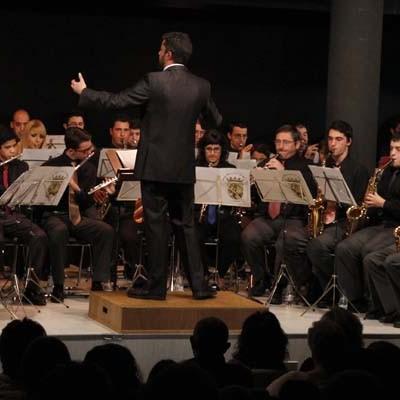 Santa Cecilia a ritmo de pasodoble con la Banda Municipal de Música de Cuéllar