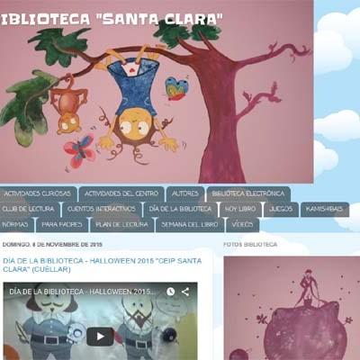 El CEIP Santa Clara participa con el blog de su biblioteca en los premios Educa 2015