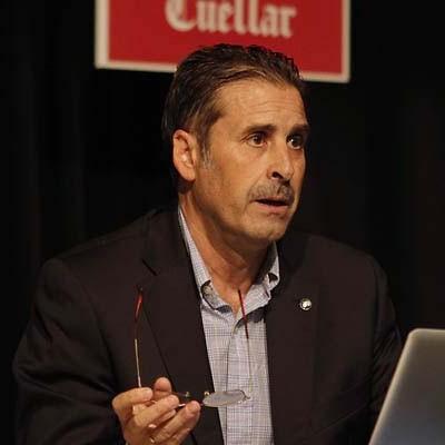 El cuellarano Juan Carlos Gómez Perlado, Premio al Deporte Javier Rodríguez Sanz 2015