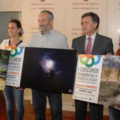 Entrega de premios de I Concurso de Fotografía de Prodestur