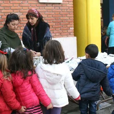 Fiesta de la Castañera en el CEIP Santa Clara