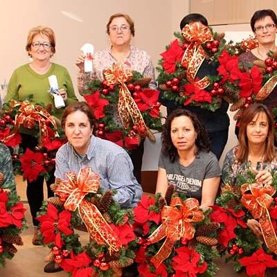 Los vecinos de La Cuesta y El Salvador preparan la Navidad