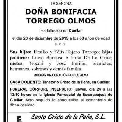 Bonifacia Torrego Olmos