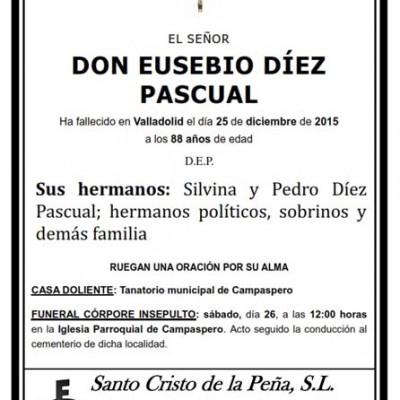 Eusebio Díez Pascual