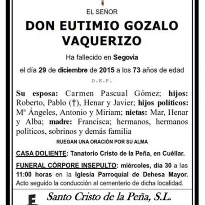 Eutimio Gozalo Vaquerizo