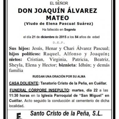 Joaquín Álvarez Mateo