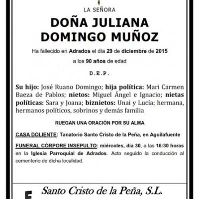 Juliana Domingo Muñoz