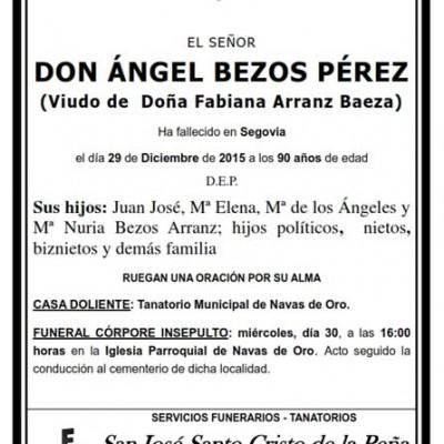Ángel Bezos Pérez
