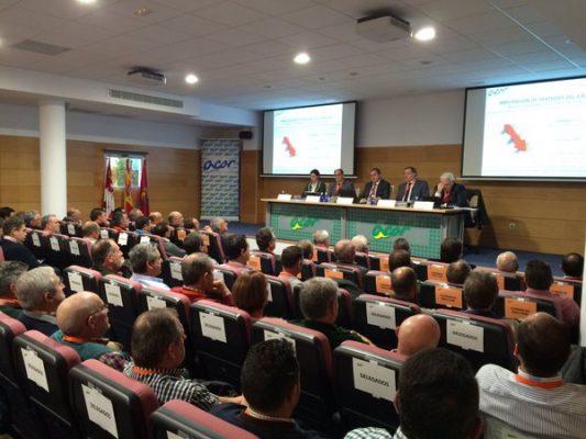 Delegados en la Asamblea de Acor