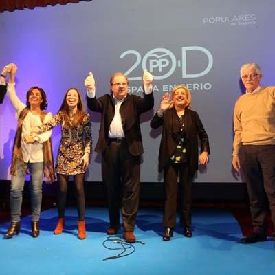 Los candidatos del PP al Congreso y Senado recorren hoy la comarca concluyendo con un mitin en Sanchonuño
