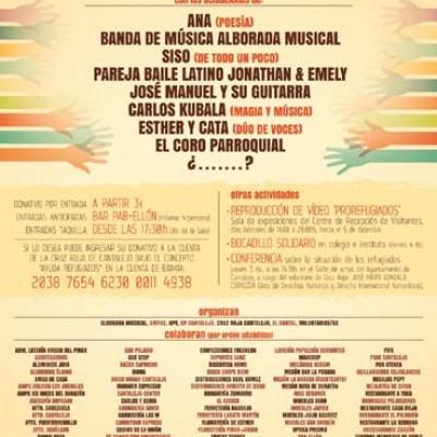Gala benéfica a favor de los refugiados en Cantalejo