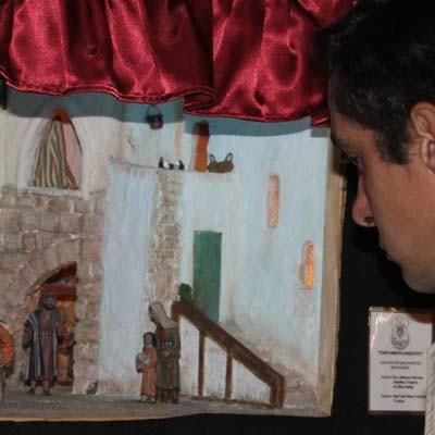 """Tenerías acoge la muestra de dioramas """"La historia del niño Jesús"""""""