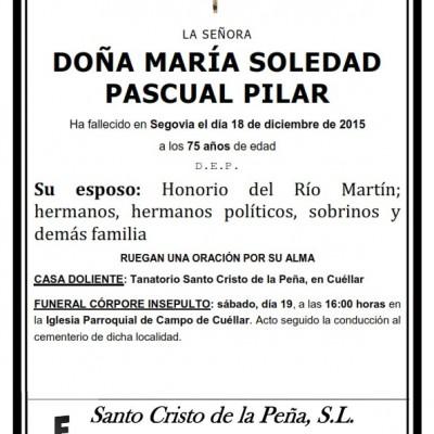María Soledad Pascual Pilar