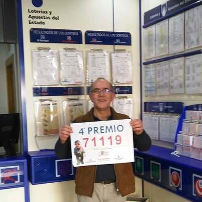 La Administración de Cantalejo vende dos décimos del cuarto premio el 71.119