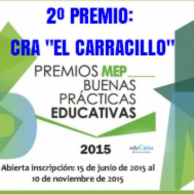 """El CRA El Carracillo recibe el segundo premio del VI Concurso de Buenas Prácticas Educativas """"Mejora tu Escuela Pública"""""""