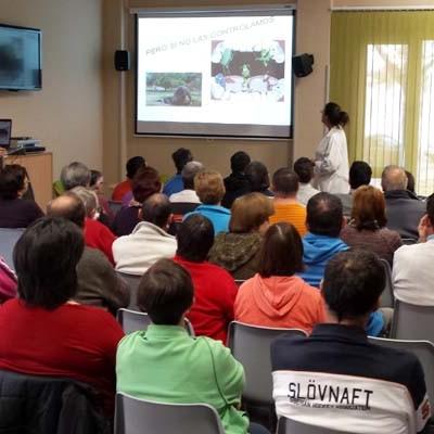 Los usuarios de Fundación Personas recibieron una charla sobre salud Bucodental