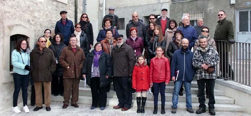 Participantes en la visita al concluir la misma.
