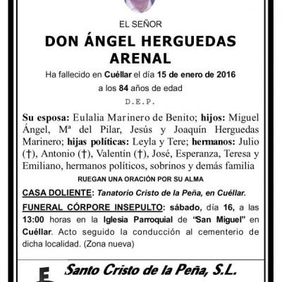 Ángel Herguedas Arenal