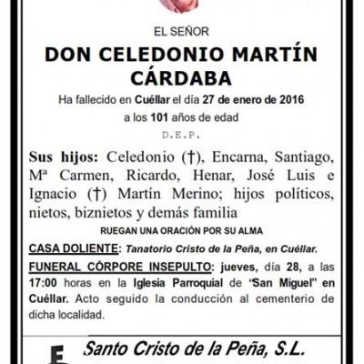 Celedonio Martín Cárdaba