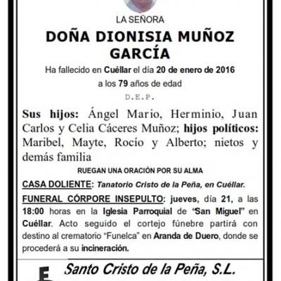 Dionisia Muñoz García
