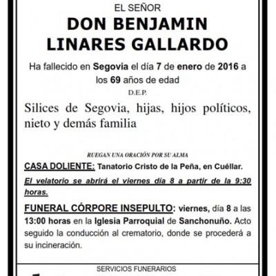 Benjamín Linares Gallardo