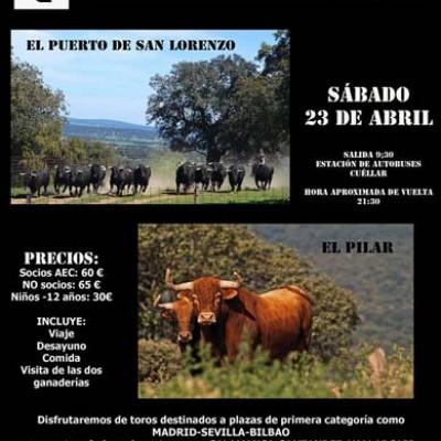 Encierros de Cuéllar organiza una visita a dos ganaderías salmantinas